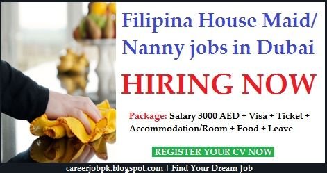 Filipino Female Housemaid Nanny Jobs In Dubai Nanny Jobs Nanny