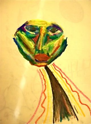 An Art Piece Used To Assess The Defendant Art Therapist Art Therapy Art