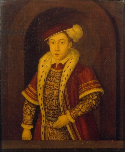 Edward VI (oil on panel), English School, (16th century) / Anglesey Abbey, Cambridgeshire, UK / National Trust Photographic Library/Derrick E. Witty /