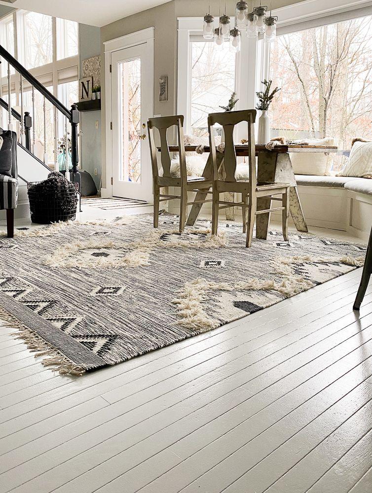 How to paint hardwood floorsno sanding required in 2020
