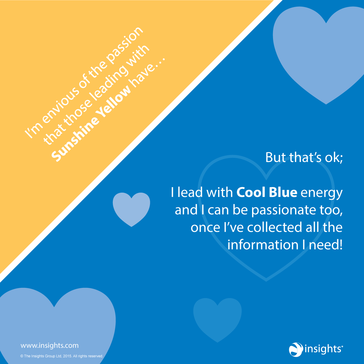 Cool Blue energy may feel envious of the more obvious gifts of ...