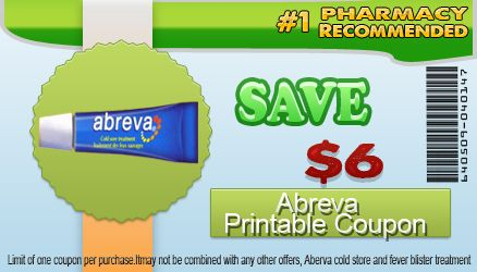 graphic regarding Abreva Coupon Printable titled Abreva Printable Coupon is my guy Friday that assists me towards