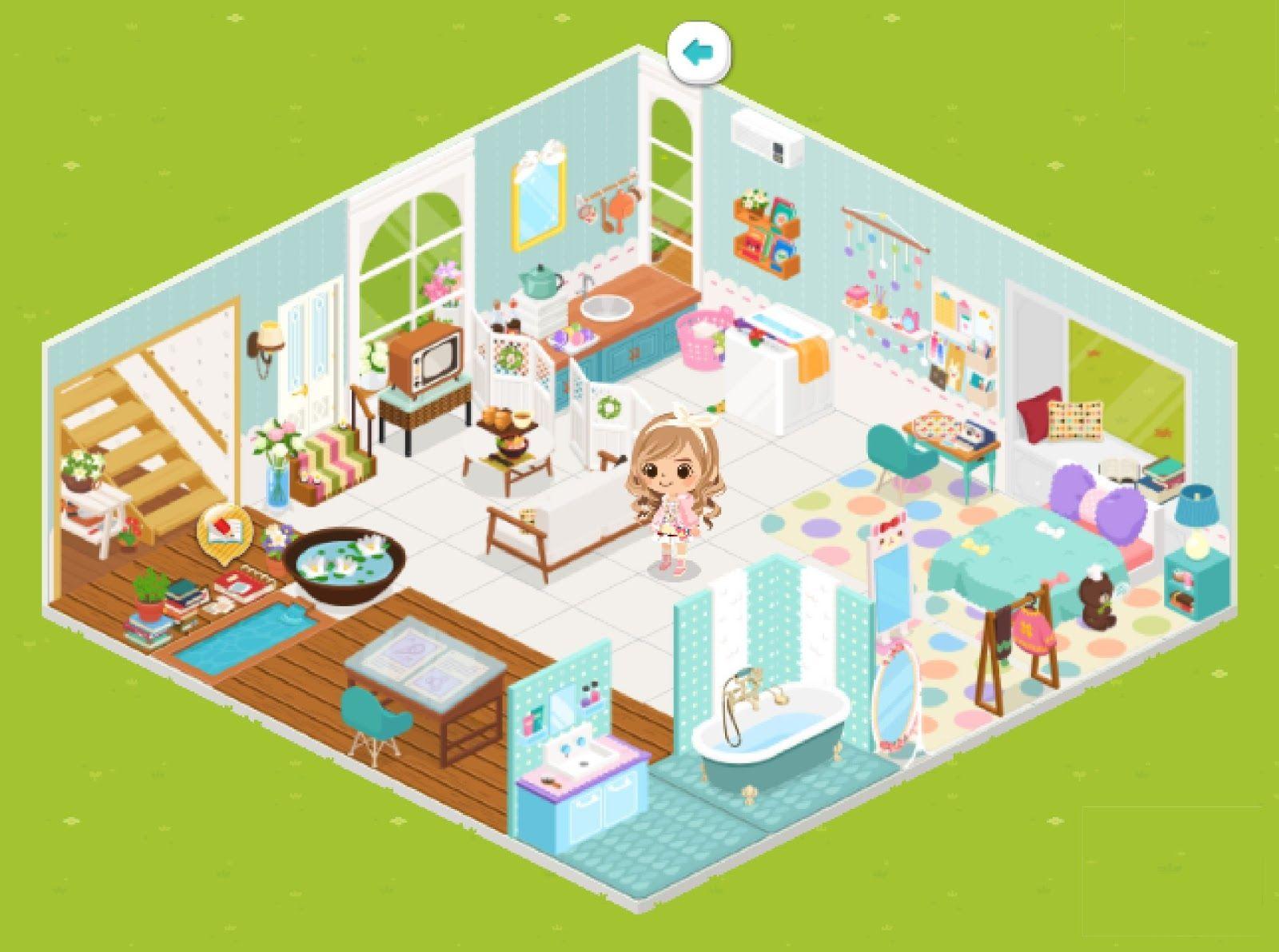 Google themes kawaii - Line Play Room Google