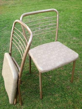 Miraculous Vintage Cosco Gatefold Folding Chairs Restoring Creativecarmelina Interior Chair Design Creativecarmelinacom