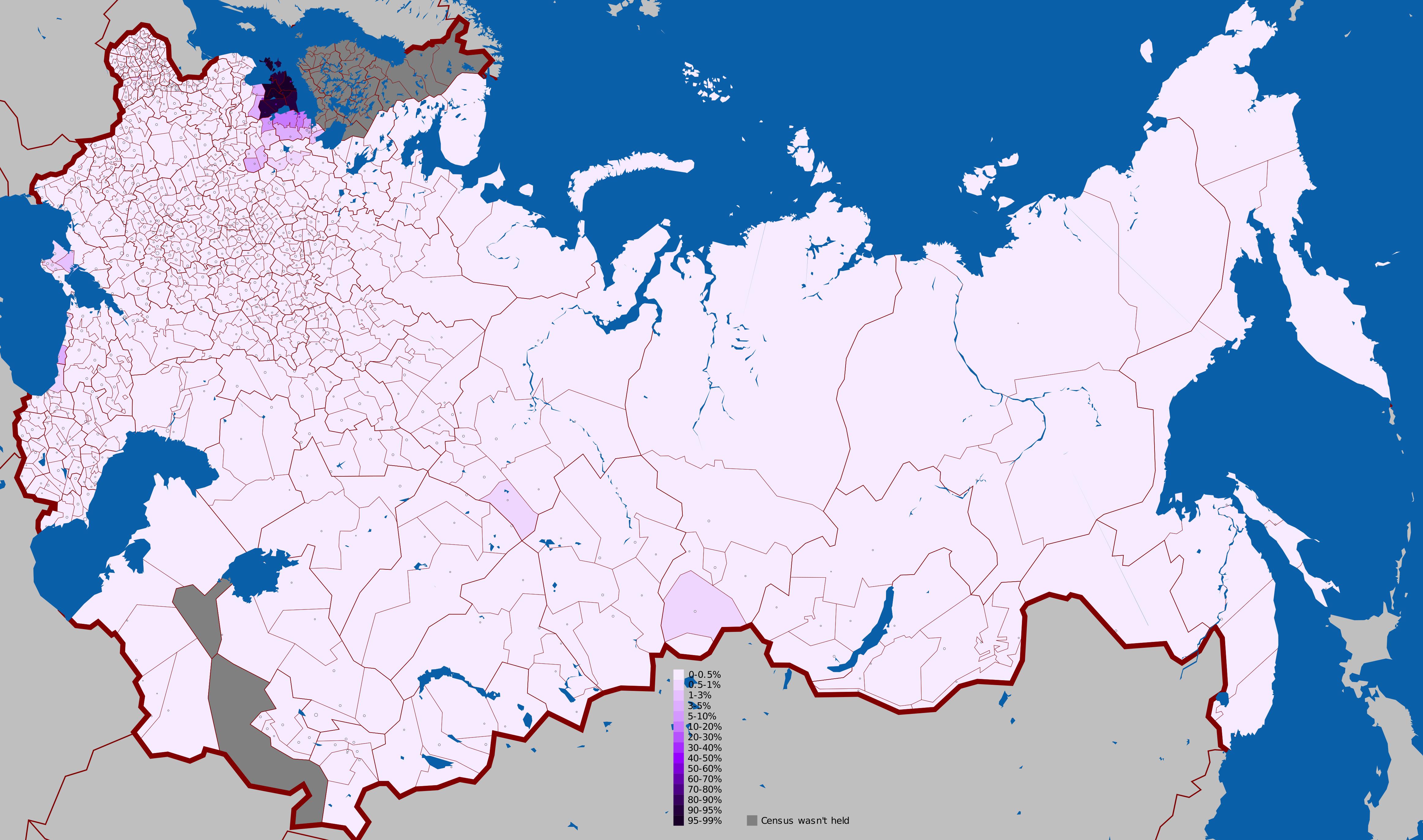 Estonian language in the Russian Empire 1897
