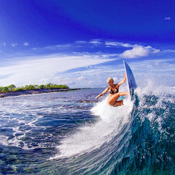 Girls Surfing Wallpaper: Surfing, Tatiana Weston-Webb