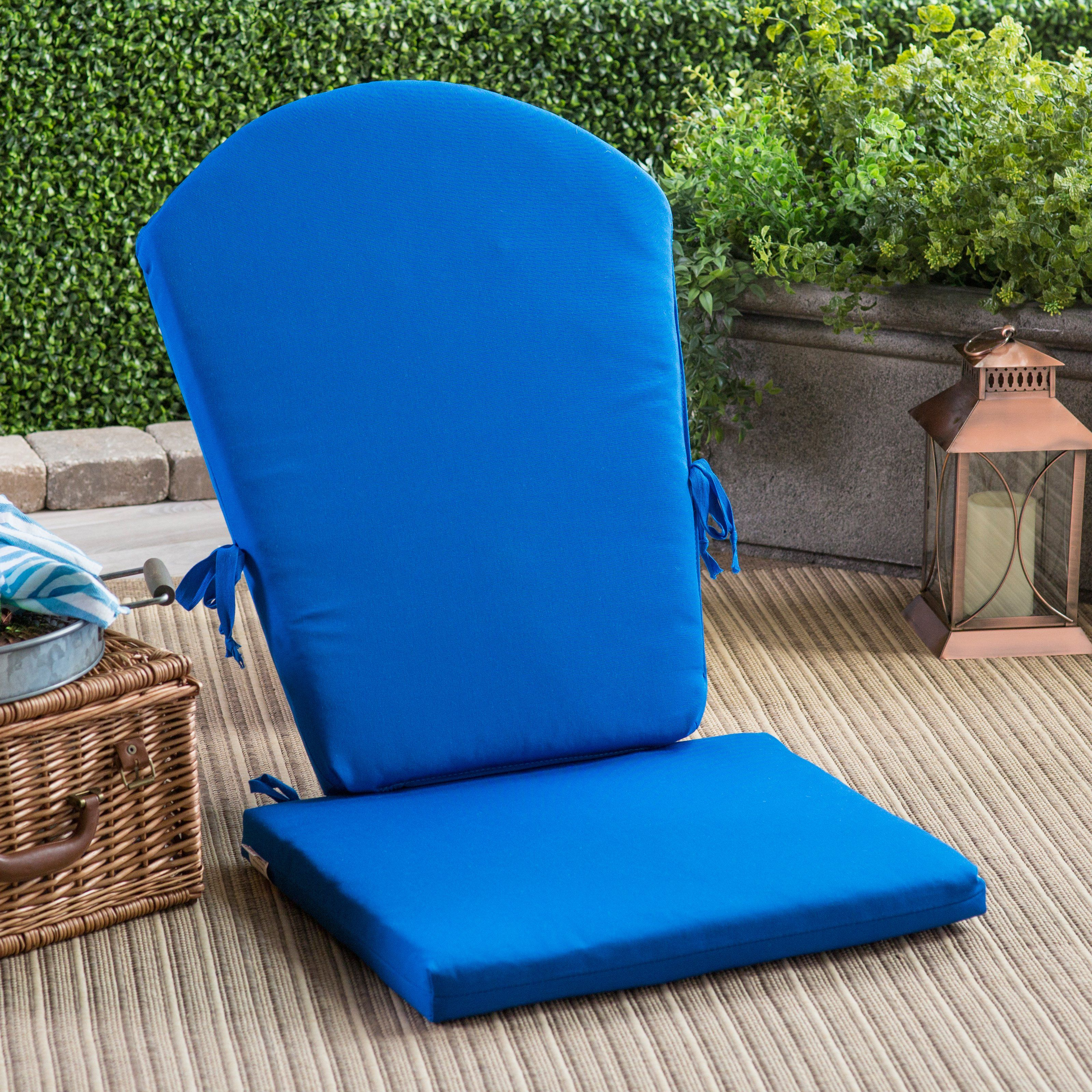 Polywood South Beach 46 25 X 22 Sunbrella Adirondack Chair