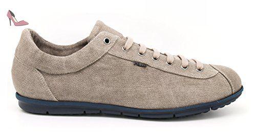 FRAU , Chaussures de ville à lacets pour homme - Beige - sughero, 40 EU