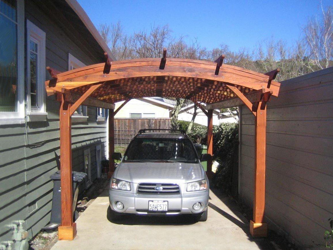 Pergola Over Garage Kit   Outdoor pergola, Modern pergola ...