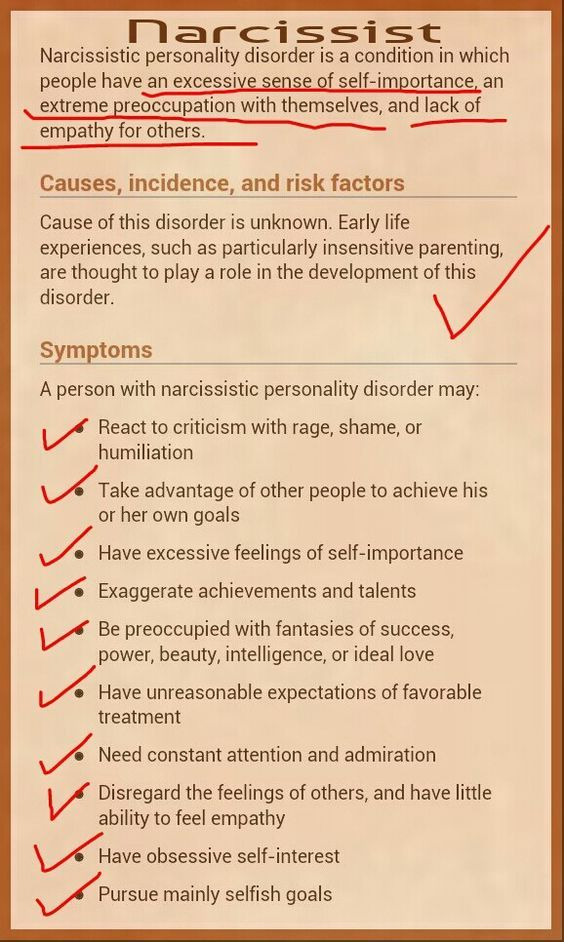 Do I Have a Narcissistic Mother Checklist