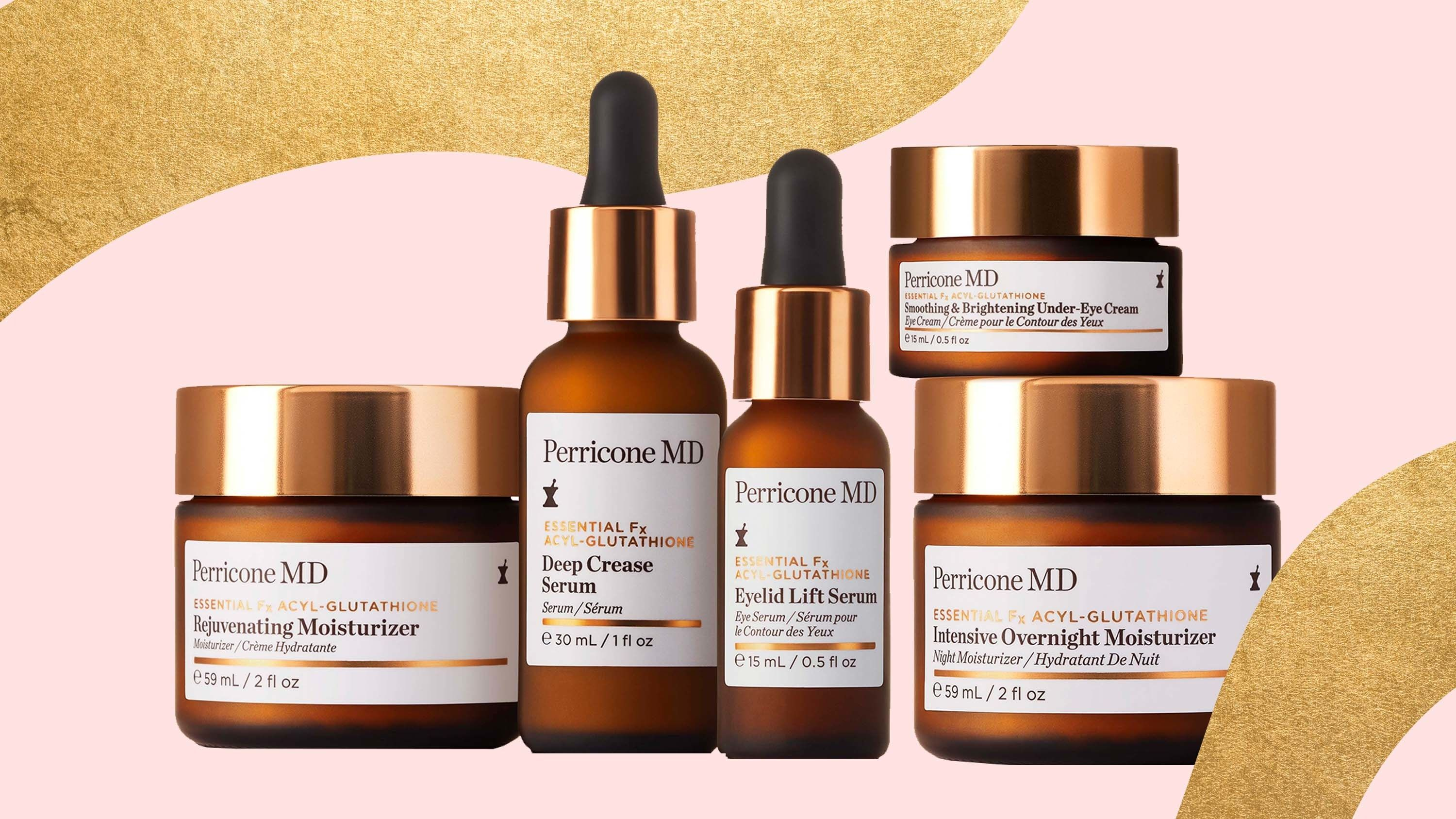 Perricone MD's New Deep Crease Serum Is Basically Botox in a