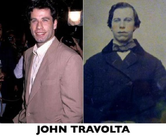 Celebritieswhoresembleoldphotos With Funny Celebrity - 24 celebrities and their incredible look alikes from past