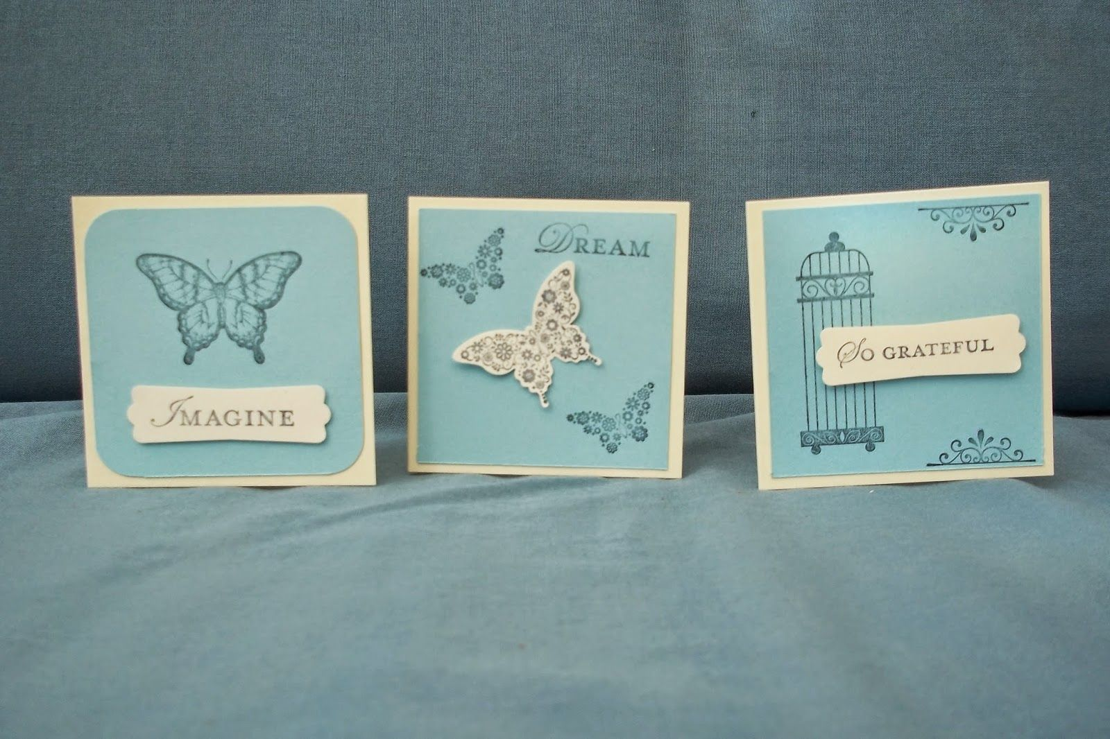 Hannah's Craft Cottage: Mini monochromatic cards