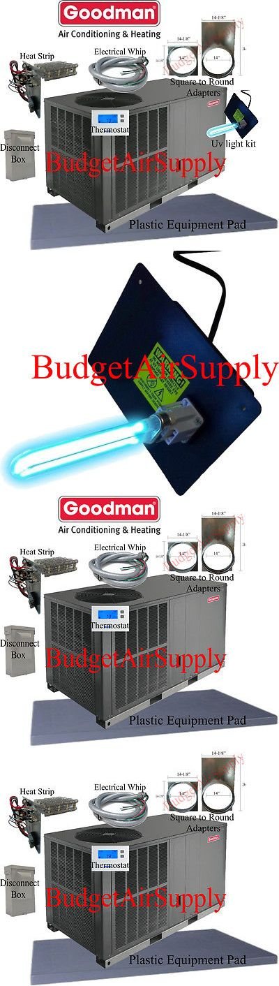 """Details about 3 Ton 14 seer Goodman HEAT PUMP""""All in One"""