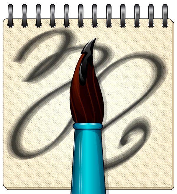 ¿Cómo hacer, usar y manipular un cepillo de cerdas en Adobe Illustrator