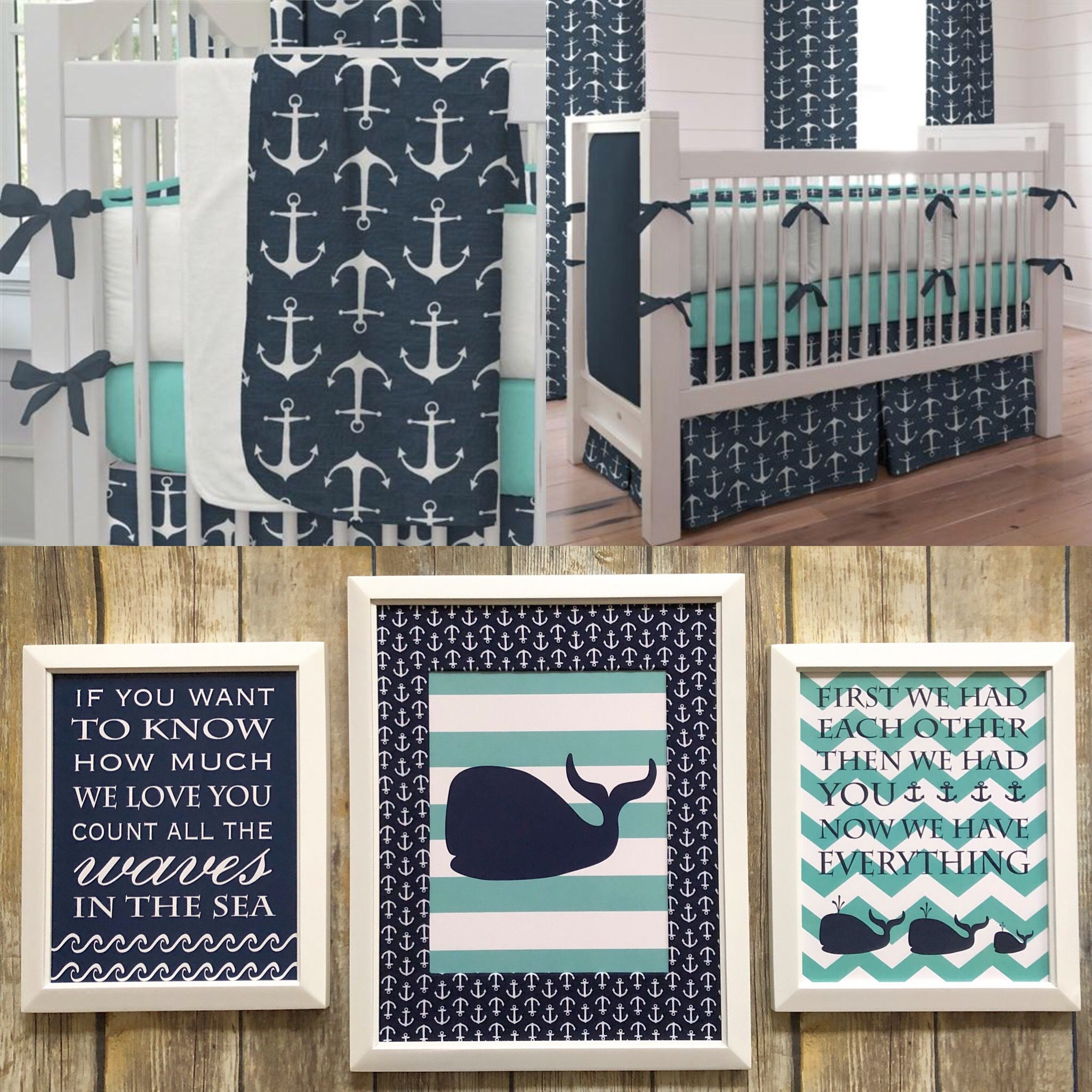 Baby Boy Nautical Nursery Decor