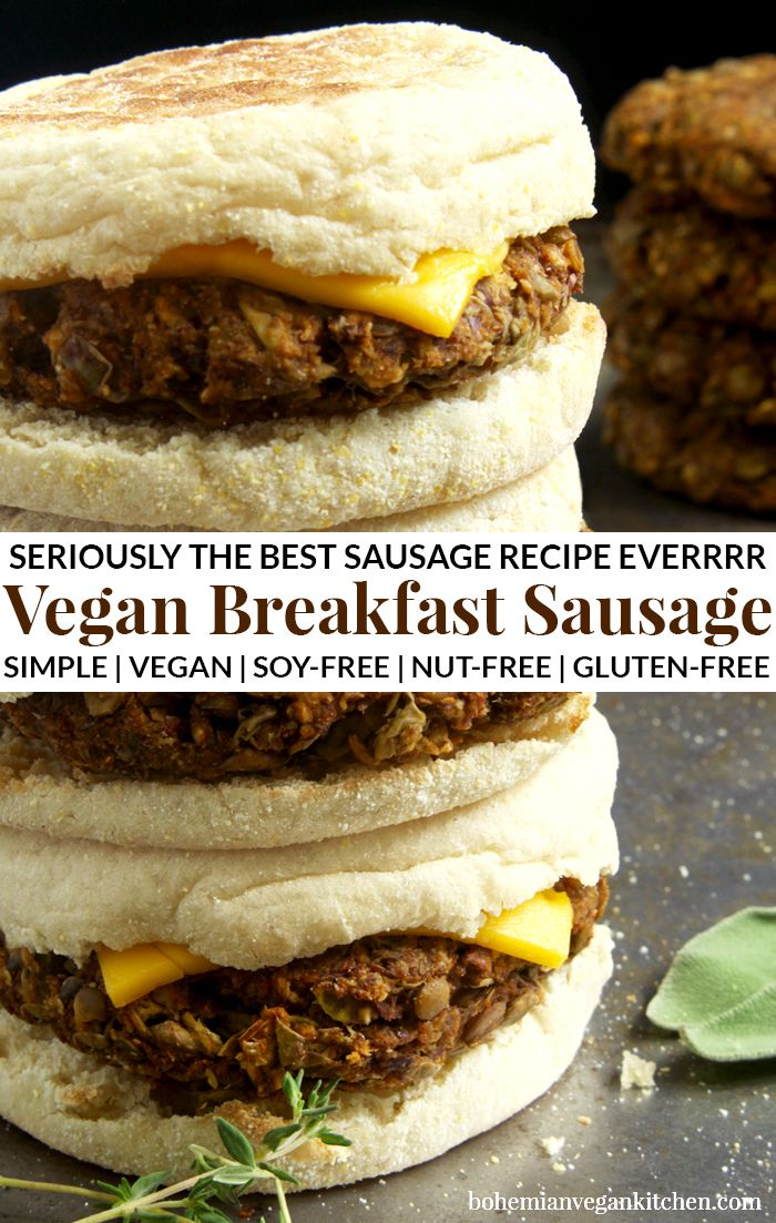 Photo of Vegan Breakfast Sausage
