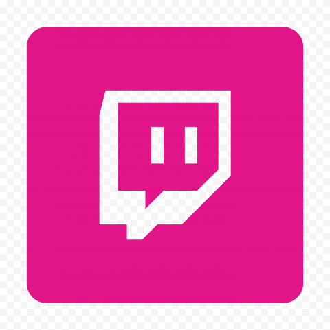 Hd Pink Twitch Tv Square Outline Icon Transparent Background Png In 2021 Transparent Background Outline Twitch Tv