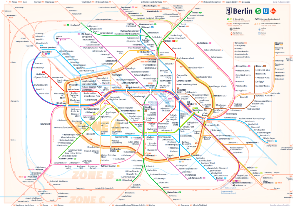 New Berlin Rapid Transit Route Map Transit Map Berlin Route Map