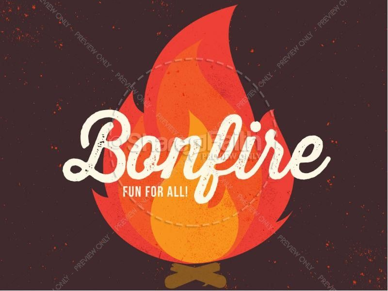 Bonfire Ministry PowerPoint | Sermon Graphics for Church