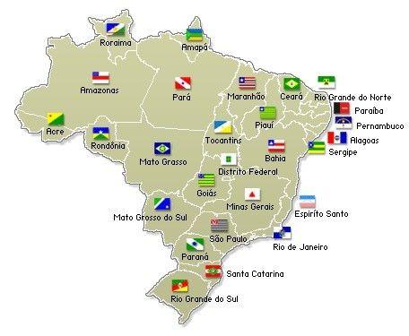 Map Brasil Com Imagens Trabalho De Escola Atividades De