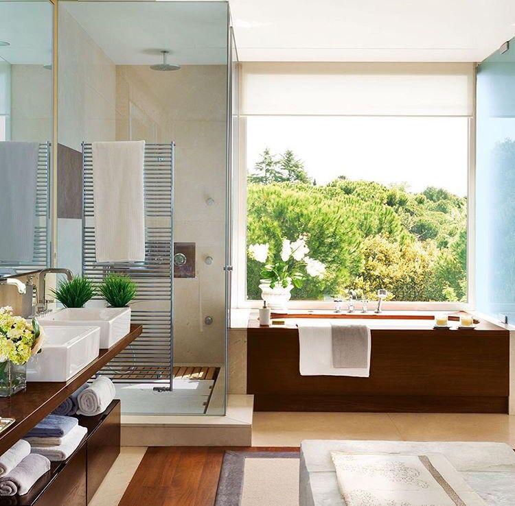 Bañera, ventana!! | Baños | Pinterest | Bañera, Ventana y Baños