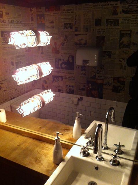 Bathroom at Trattoria Mercatto in the Toronto Eaton Centre ...