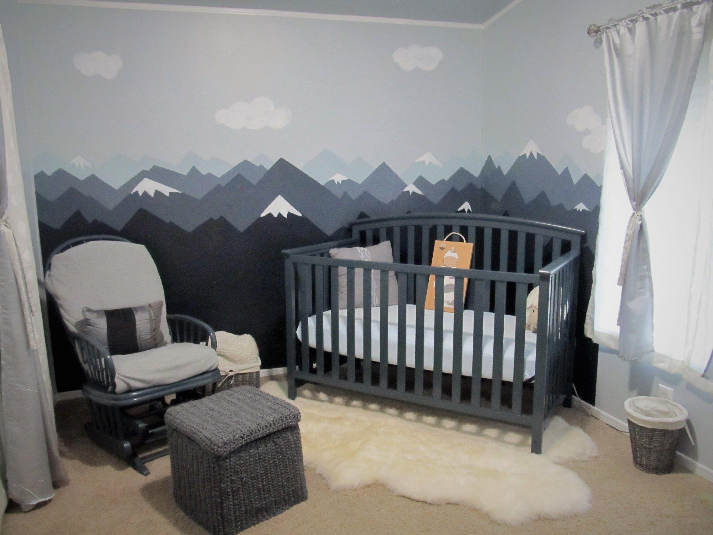 Baby Nursery Mountain Theme The Crafty Nurse Baby Crafty