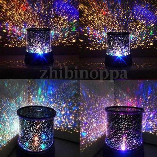 Romantic LED Starry Night Sky Projector Lamp Xmas Gift Star light