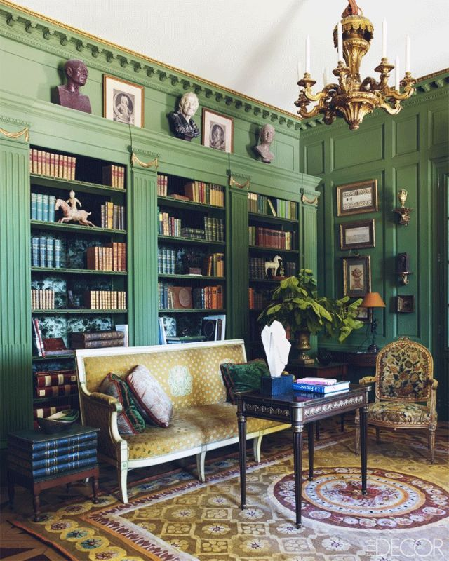 20 Stunning Home Libraries That Will Give You Shelf Envy Home Library Decor Home Home Libraries