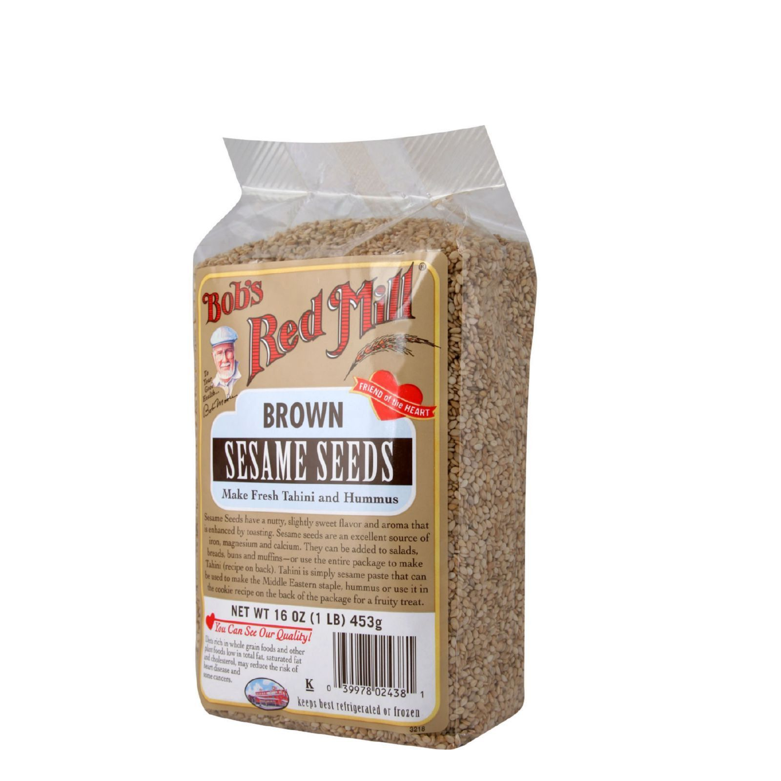 Bob's Red Mill Brown Sesame Seeds 16 oz Case of 4