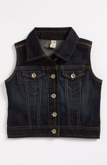 Sweet Ivy Denim Vest (Little Girls) available at #Nordstrom