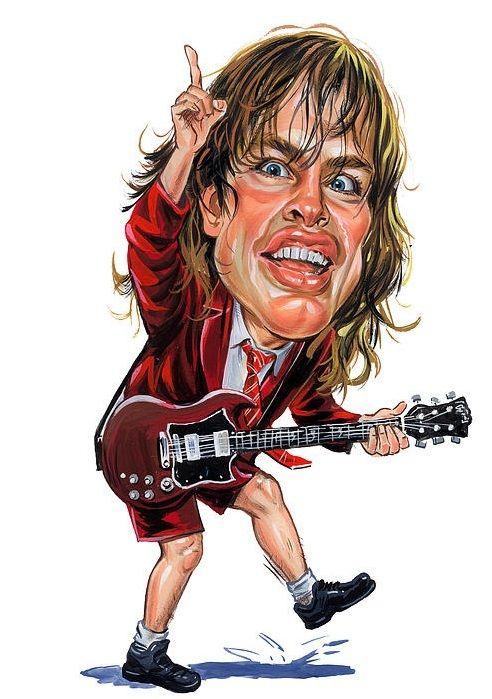 Caricaturas Y Dibujos De Bandas De Rock Caricatures Pinterest