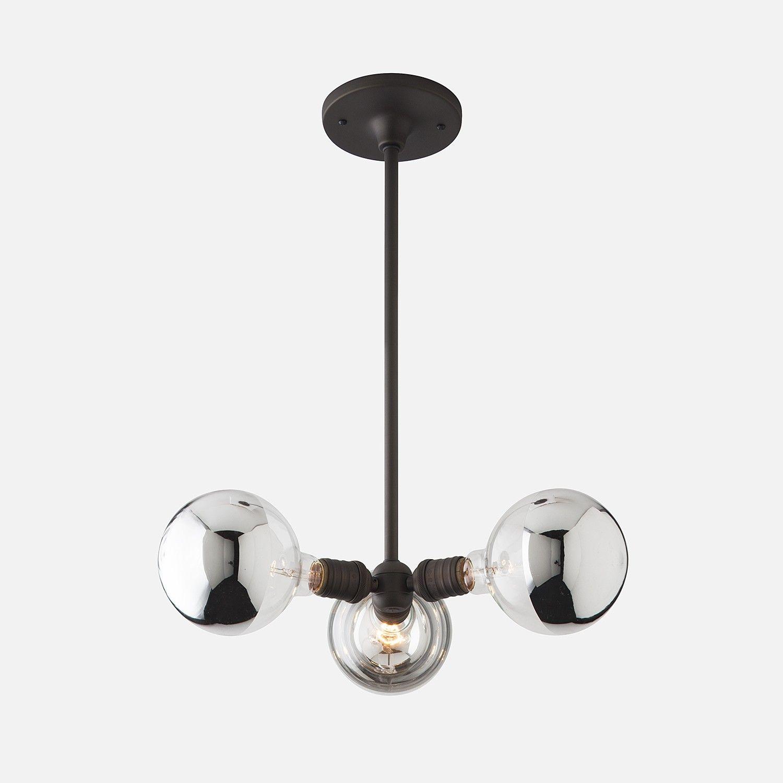 Satellite chandelier schoolhouse electric pendant lighting and