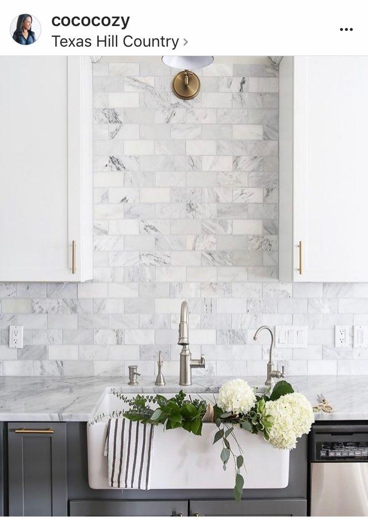 Home Design Ideas Interior Modern Marble Subway Tiles