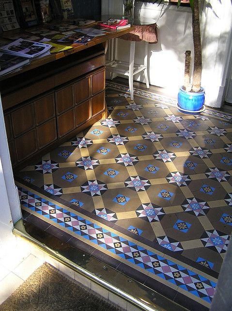 Edwardian Tiled Floor Edinburgh Houseplan Stuff Pinterest