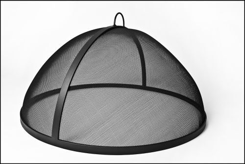 Fire Pit Spark Screens 49 304 Stainless Steel Lift Off Dome Fire Pit Safety Screen Click On The Image For Addition Fire Pit Screen Fire Pit Safety Fire Pit