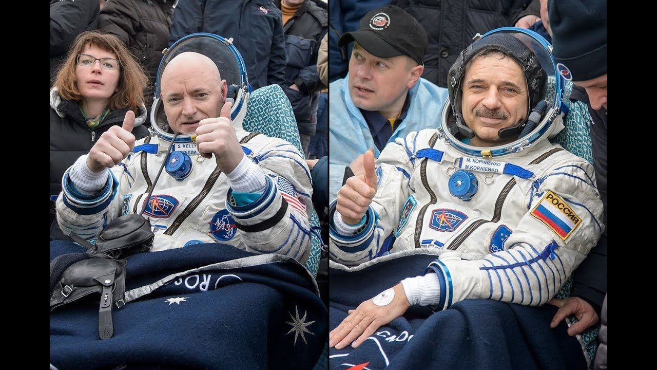 "NASA ""Astronaut"" Scott Kelly Returns To Earth From ISS"