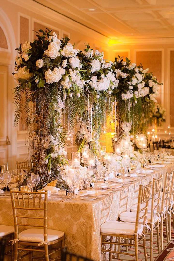 Glitz and Glam New Year's Eve California Wedding | Green ...