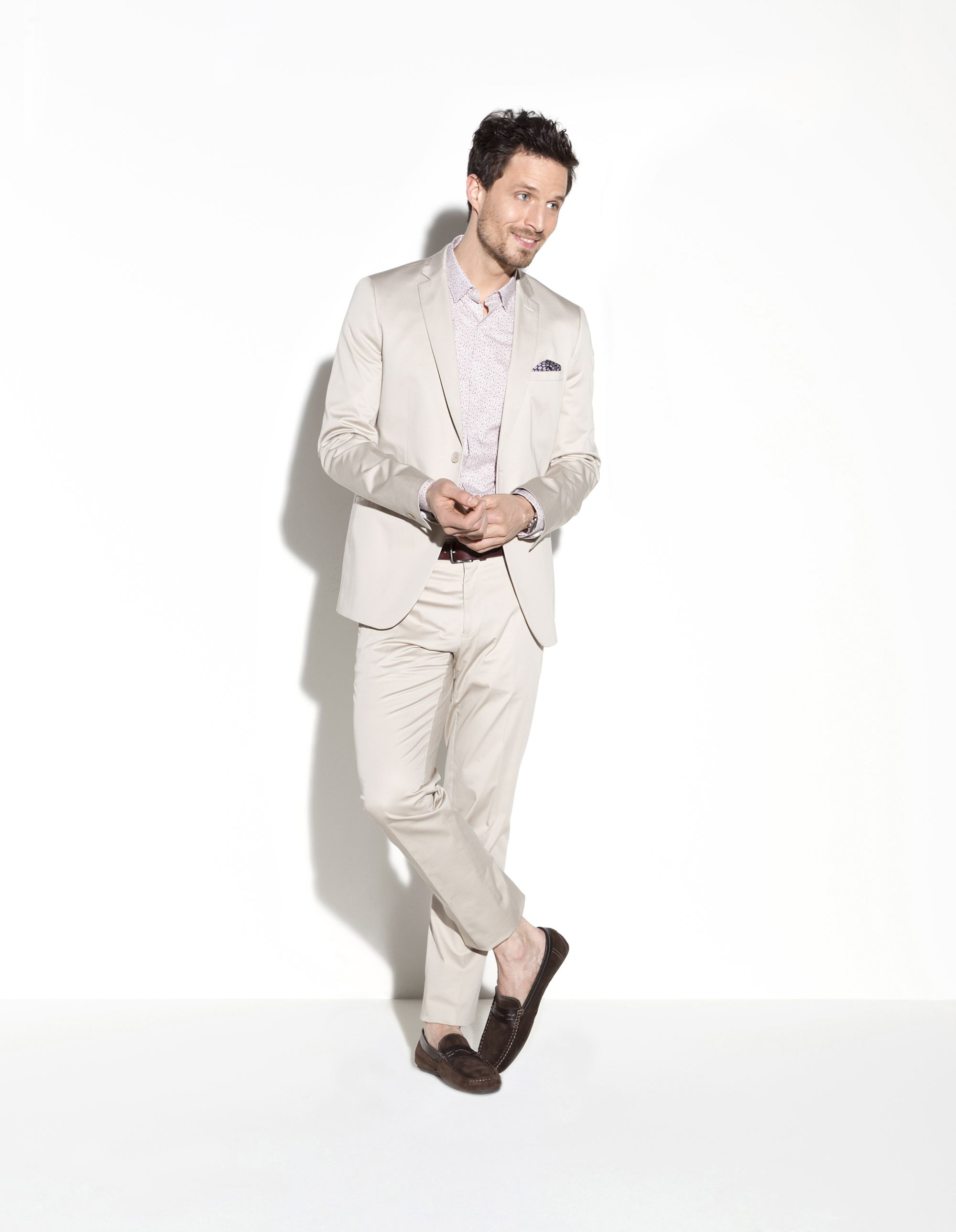 Veste costume en coton