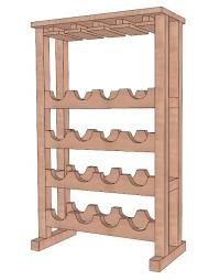 Build wine rack plans This Do it yourself projects category ...