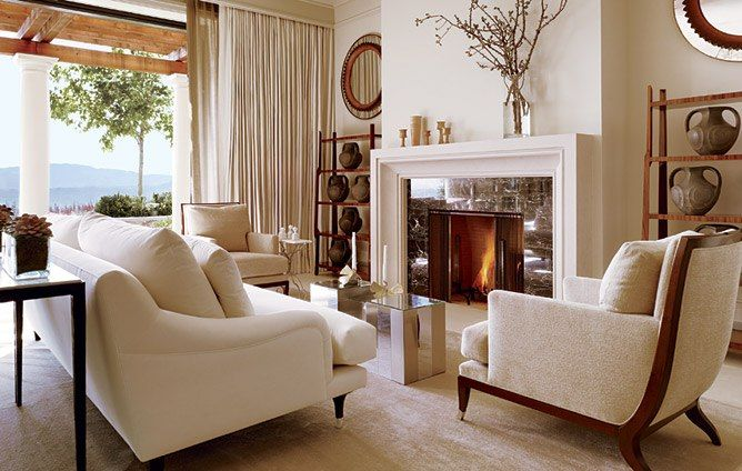 A Mediterranean Style Home In Napa Valley Architectural Digest