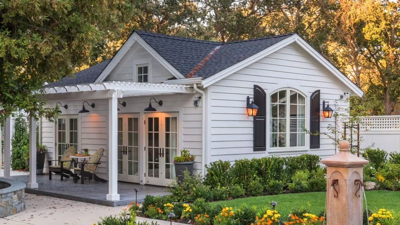 Absolutely Beautiful Private Residence Guest House And Garage Sell My House Fast Small House Design Guest House Plans