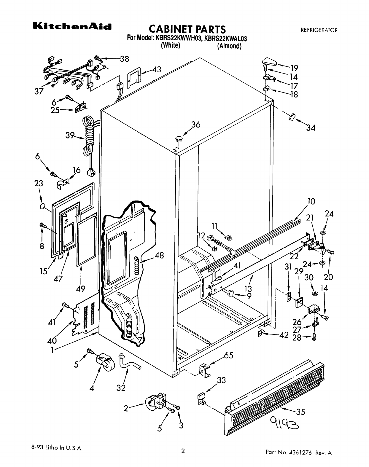 Kitchenaid Superba Refrigerator Repair Manual. Feels free