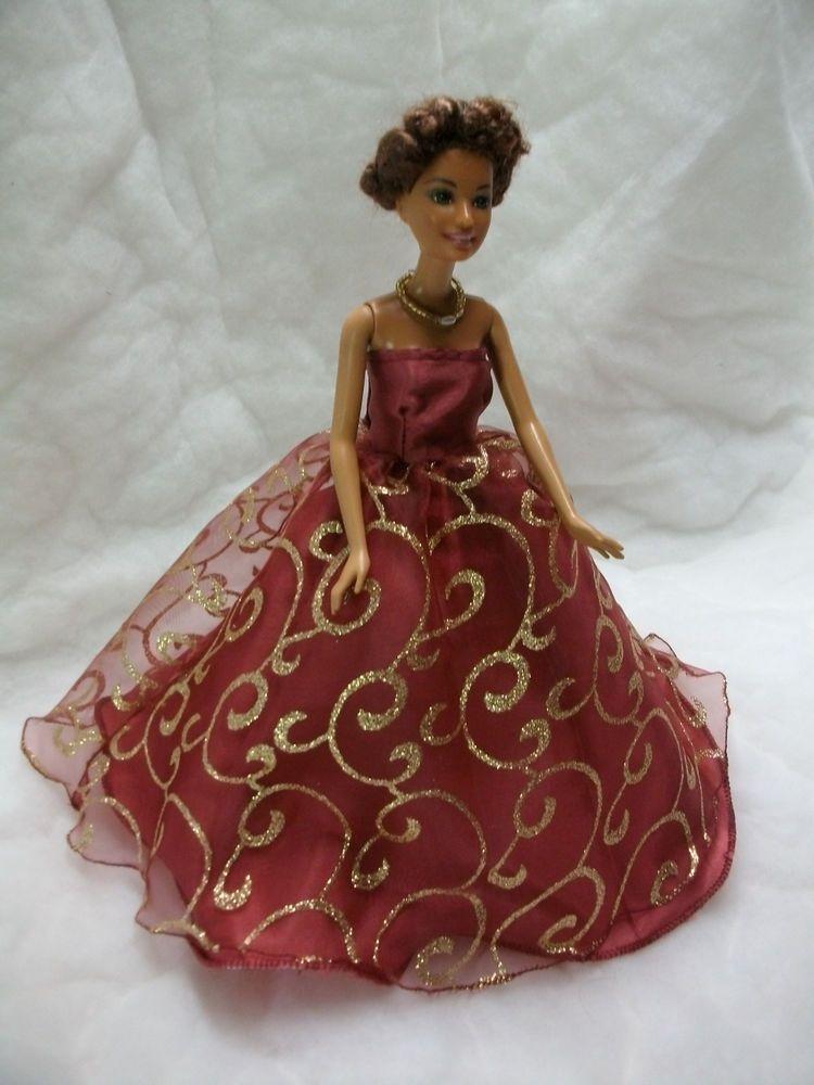 kleidung f r barbie barbie kleid pinteres. Black Bedroom Furniture Sets. Home Design Ideas