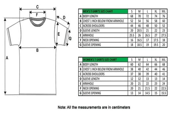 Step By T Shirt Measurement