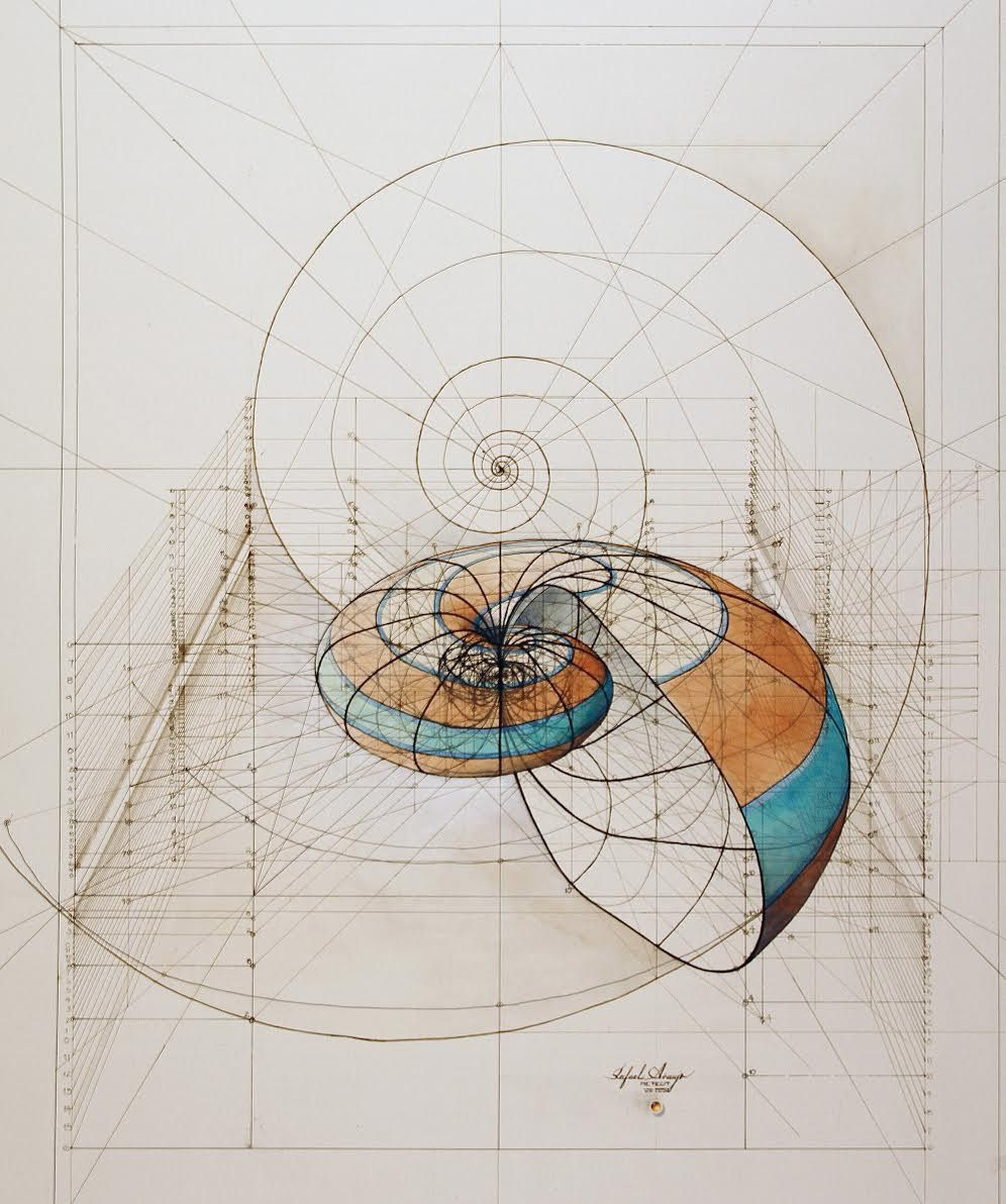 """CALCULATION"" DRAWINGS BY RAFAEL ARAUJO"