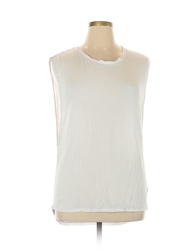 We The Free Solid White Tank Top Size L 75 Off Thredup White Tank Top White Tank Tops