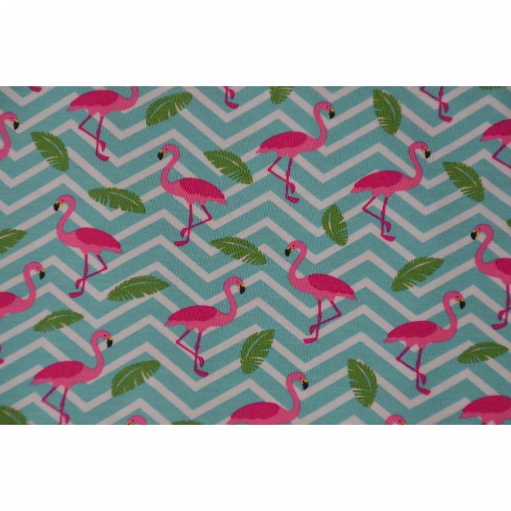 French Terry Stoff Digitaldruck Baumwolle Sommer Sweat Einhorn Pink Bekleidung