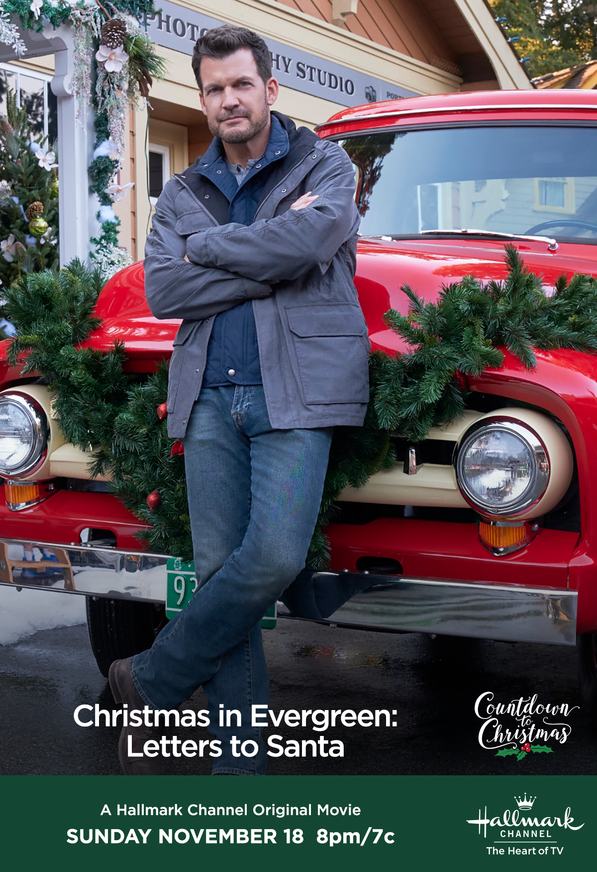 Christmas In Evergreen Hallmark.Can Kevin Mark Deklin Save Christmas And Restore